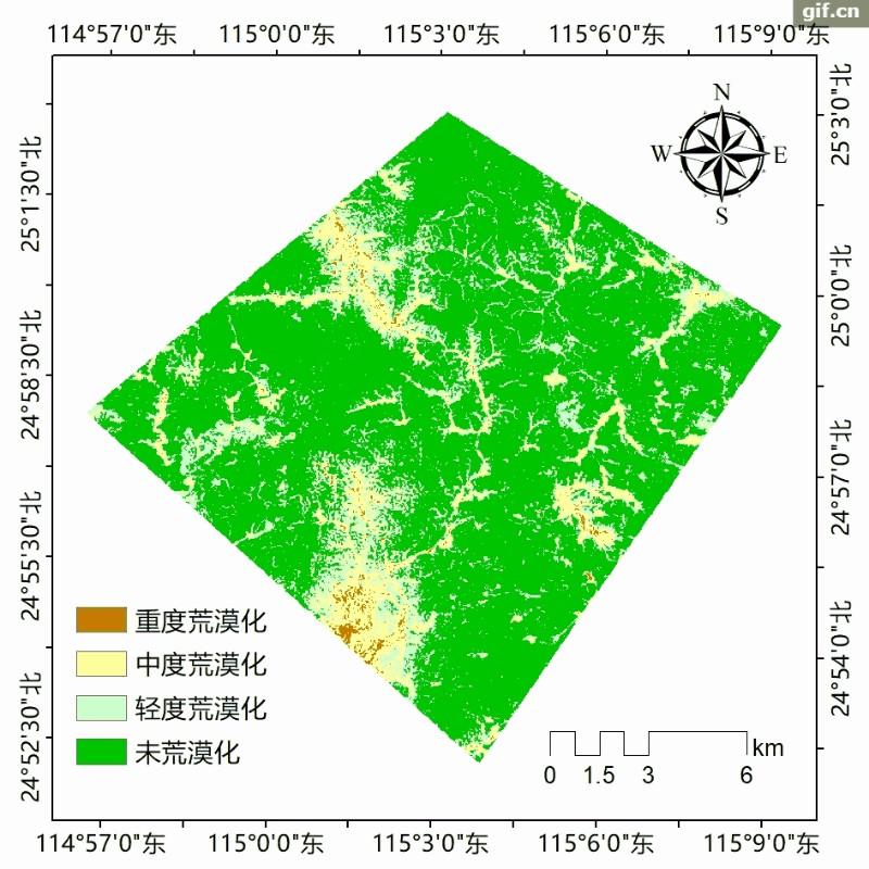 D434(二等奖)稀土矿区荒漠化遥感长时序监测方法及应用