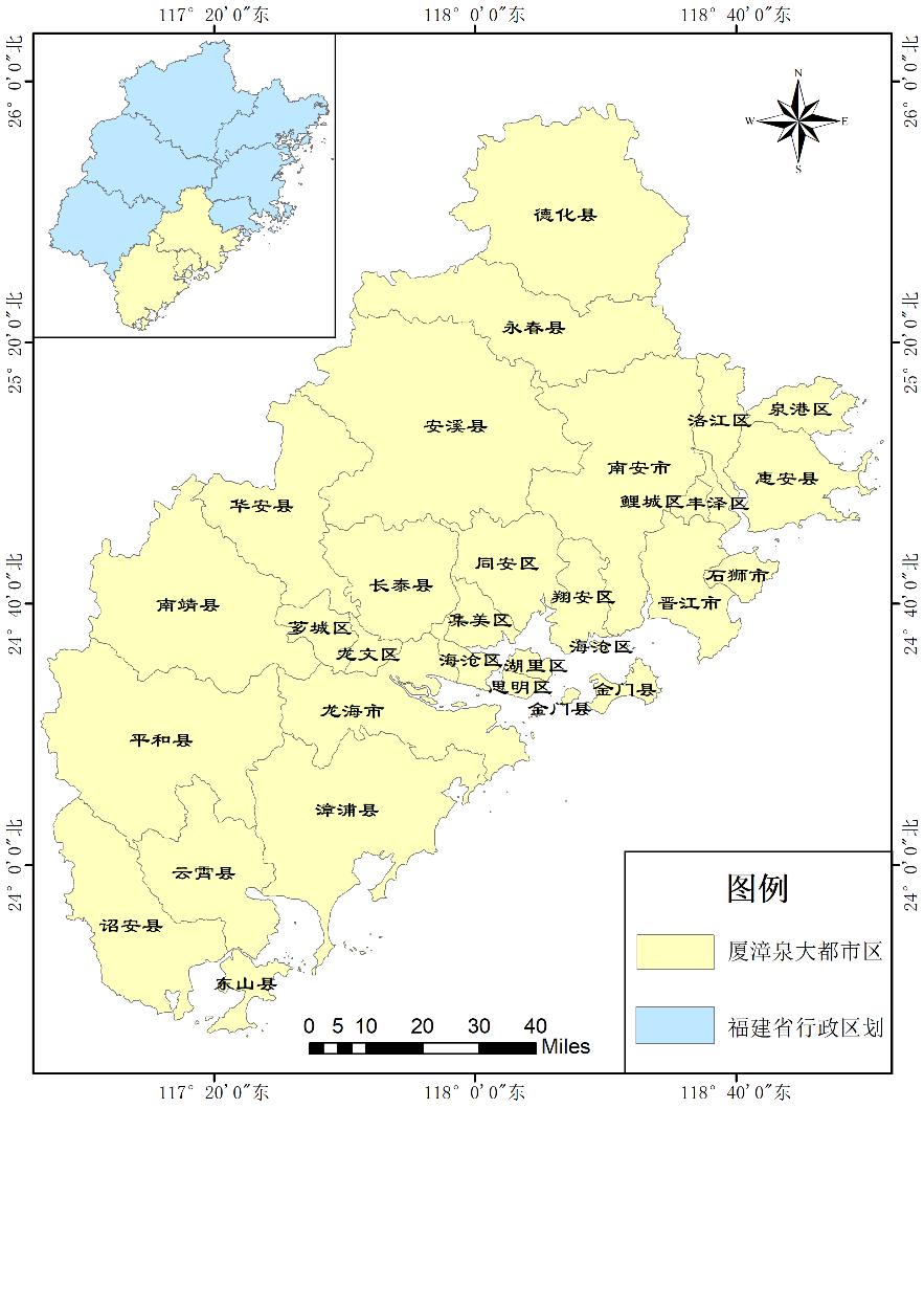 D183(三等奖)基于夜光遥感的城市扩张分析——以厦漳泉大都市区为例